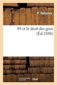 89 Et Le Droit Des Gens