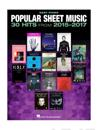 Popular Sheet Music 30 Hits from 2015-2017