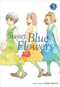 Sweet Blue Flowers 3