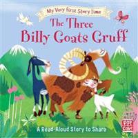 My very first story time: the three billy goats gruff - fairy tale with pic