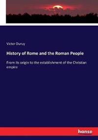 History of Rome and the Roman People