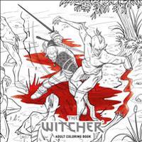 Witcher adult coloring book