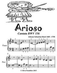 Arioso Cantata Bwv 156 - Beginner Piano Sheet Music Tadpole Edition