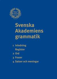 Svenska Akademiens grammatik