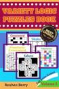 Variety Logic Puzzles Book: Fall Brain Games(standard Crossword, Fillomino, Sikaku, Sikaku, Freeform Crossword) to Keep Your Brain Healthy Every D
