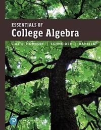 Essentials of College Algebra