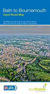 Bath to Bournemouth Cycle Route Map