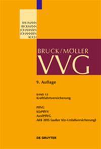 Kraftfahrtversicherung: Pflvg; Kfzpflvv; Auslpflvg; Akb 2015 (Außer Kfz-Unfallversicherung)