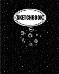 Sketchbook: Star System: 120 Pages of 8 X 10 Blank Paper for Drawing, Doodling or Sketching (Sketchbook)