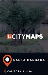 City Maps Santa Barbara California, USA