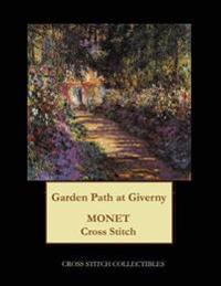 Garden Pathway at Giverny: Monet Cross Stitch Pattern