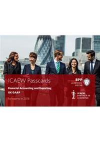 Icaew financial accounting and reporting gaap - passcards