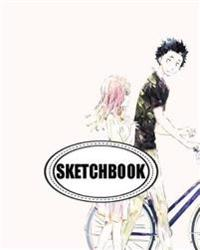 Sketchbook: Bike: 120 Pages of 8 X 10 Blank Paper for Drawing, Doodling or Sketching (Sketchbook)