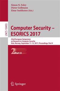 Computer Security - Esorics 2017