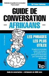 Guide de Conversation Francais-Afrikaans Et Vocabulaire Thematique de 3000 Mots