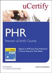 Phr Exam Prep Pearson Ucertify Course Student Access Card: Professional in Human Resources