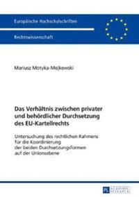 Das Verhaeltnis Zwischen Privater Und Behoerdlicher Durchsetzung Des Eu-Kartellrechts: Untersuchung Des Rechtlichen Rahmens Fuer Die Koordinierung Der