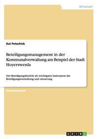 Beteiligungsmanagement in Der Kommunalverwaltung Am Beispiel Der Stadt Hoyerswerda