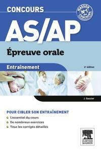 Entrainement Concours AS/AP epreuve orale