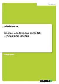 Tancredi Und Clorinda, Canto XII, Gerusalemme Liberata