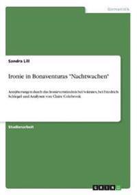 """Ironie in Bonaventuras """"Nachtwachen"""""""