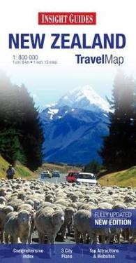 Insight Travel Map: New Zealand