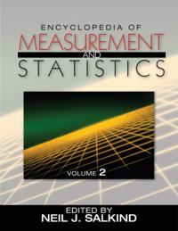 Encyclopedia of Measurement and Statistics