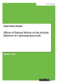 Effects of Payload Motion on the Attitude Behavior of a Spinning Spacecraft