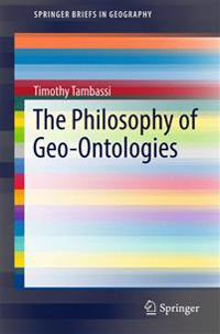 The Philosophy of Geo-Ontologies