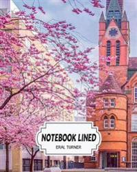 Notebook Lined: Nature City: Notebook Journal Diary, 120 Lined Pages, 8 X 10