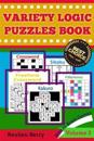 Variety Logic Puzzles Book: Winter Brain Games(standard Crossword, Fillomino, Sikaku, Sikaku, Freeform Crossword) to Keep Your Brain Healthy Every