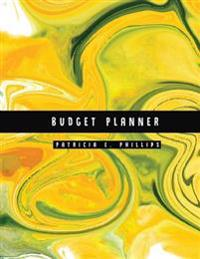 Budget Planner: Green Yellow Marble Large Budget Planner: Expense Tracker for 24 Months: Graph Paper Included