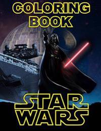 Star Wars Coloring Book: Great Activity Book for All Ages, Han Solo, Darth Vader, Yoda, Princess Leia, Luke Skywalker, R2-D2, Rey, Obi-WAN Keno