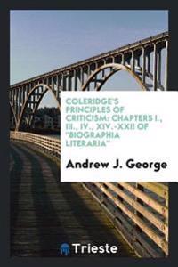 Coleridge's Principles of Criticism