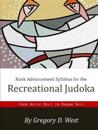 Rank Advancement Syllabus for the Recreational Judoka