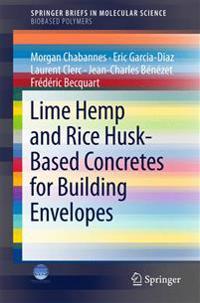Lime Hemp and Rice Husk-based Concretes for Building Envelopes
