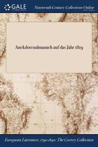 Anekdotenalmanach Auf Das Jahr 1819