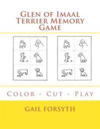 Glen of Imaal Terrier Memory Game: Color - Cut - Play