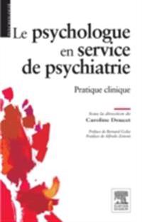 Le psychologue en service de psychiatrie