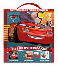 Biler 3. Aktivitetsbok og puslespill