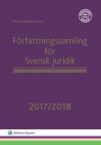 Författningssamling för Svensk juridik