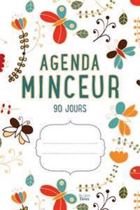 Agenda Minceur 90 Jours: Journal Alimentaire Et D'Activite Sportive (Blanc)