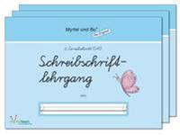 """Myrtel und Bo"" - Klasse 1 - Paket: Schreibschriftlehrgang - Heft 2 - 4 - SAS Schulausgangsschrift"