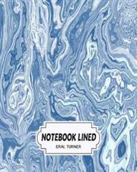 Notebook Lined: Blue Marble: Notebook Journal Diary, 120 Lined Pages, 8 X 10
