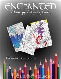 Enchanted: Therapy Coloring Book