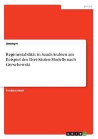 Regimestabilität in Saudi-Arabien am Beispiel des Drei-Säulen-Modells nach Gerschewski