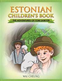 Estonian Children's Book: The Adventures of Tom Sawyer