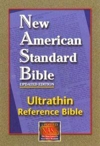Ultrathin Reference Bible-NASB