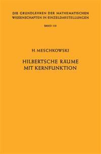 Hilbertsche R�ume Mit Kernfunktion
