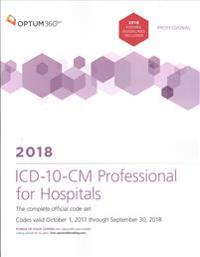 ICD-10-CM Professional for Hospitals 2018